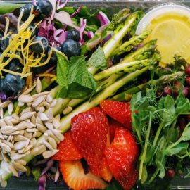 2nd Brain Salad - Raw Vegan